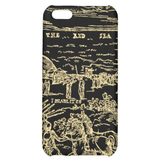 1560 Geneva Bible Red Sea (Gold on Black) iPhone 5C Cover