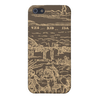 1560 Geneva Bible Red Sea (Sepia) Cover For iPhone SE/5/5s