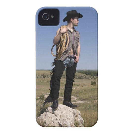15614-RA Cowboy iPhone 4 Case-Mate Case