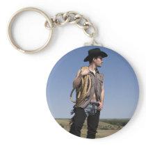 15614-RA Cowboy Keychain
