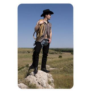 15614-RA Cowboy Magnet