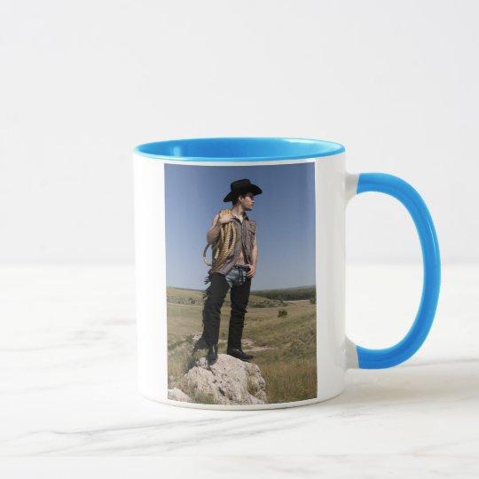 15614-RA Cowboy Mug