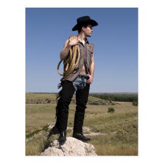 15614-RA Cowboy Post Card