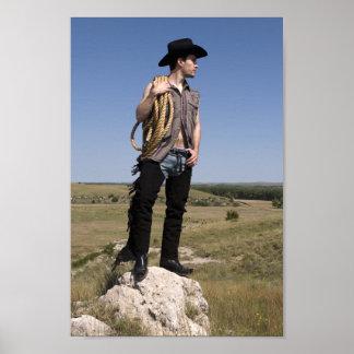 15614-RA Cowboy Poster