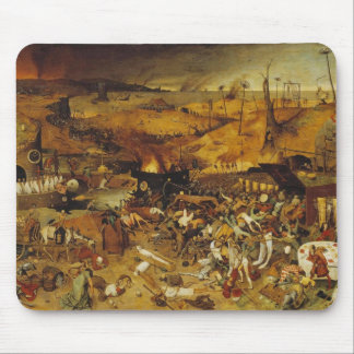 1562 Plague Painting Mouse Pad