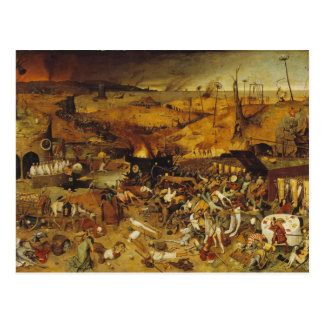 1562 Plague Painting Post Cards