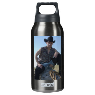 15631-RA Cowboy Insulated Water Bottle