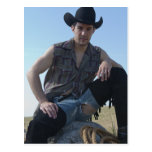 15631-RA Cowboy Post Card