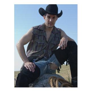 15631-RA Cowboy Postcard