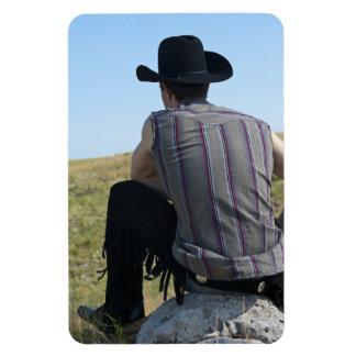 15649-RA Cowboy Magnet