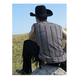 15649-RA Cowboy Postcard
