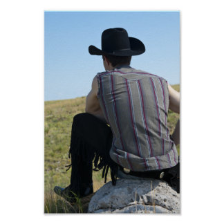 15649-RA Cowboy Poster