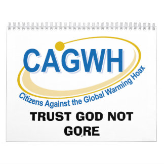 156507_logo_final, TRUST GOD NOT GORE Wall Calendar