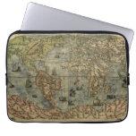 1565 Ferando Berteli (Fernando Bertelli) World Map Computer Sleeve