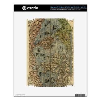 1565 Ferando Berteli (Fernando Bertelli) World Map NOOK Decals
