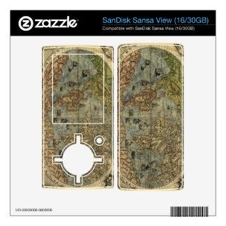1565 Ferando Berteli (Fernando Bertelli) World Map Skins For Sansa View