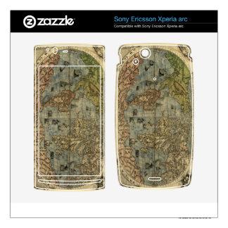 1565 Ferando Berteli (Fernando Bertelli) World Map Xperia Arc Skins