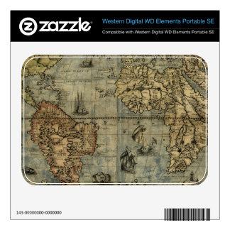 1565 Ferando Berteli (Fernando Bertelli) World Map WD Elements SE Skins