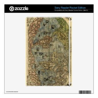 1565 Ferando Berteli (Fernando Bertelli) World Map Skin For The Sony Reader