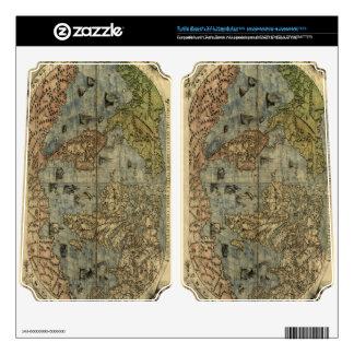 1565 Ferando Berteli (Fernando Bertelli) World Map Turtle Beach X41 Skin
