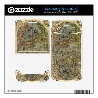 1565 Ferando Berteli (Fernando Bertelli) World Map Skin For BlackBerry Bold