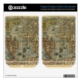 1565 Ferando Berteli (Fernando Bertelli) World Map FreeAgent GoFlex Skin