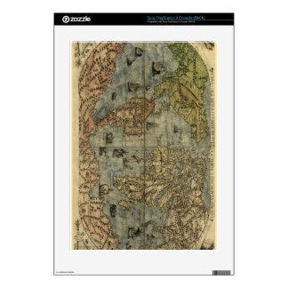 1565 Ferando Berteli (Fernando Bertelli) World Map PS3 Console Decals