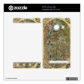 1565 Ferando Berteli (Fernando Bertelli) World Map Decals For The HTC Evo 4G