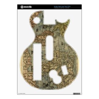 1565 Ferando Berteli (Fernando Bertelli) World Map Guitar Hero Skin