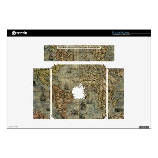 1565 Ferando Berteli (Fernando Bertelli) World Map Mac Mini Skin