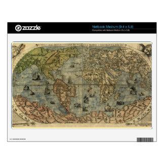 1565 Ferando Berteli (Fernando Bertelli) World Map Decals For Netbooks