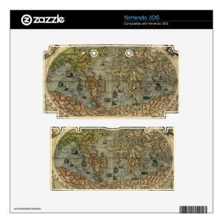 1565 Ferando Berteli (Fernando Bertelli) World Map 3DS Skins