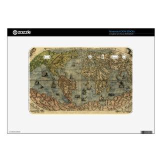 1565 Ferando Berteli (Fernando Bertelli) World Map Motorola XOOM Decals