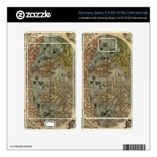 1565 Ferando Berteli (Fernando Bertelli) World Map Samsung Galaxy S II Skin