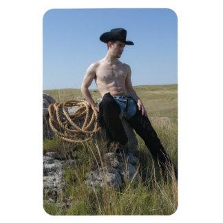 15693-RA Cowboy Magnet