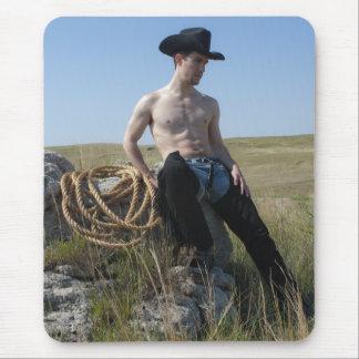 15693-RA Cowboy Mouse Pad