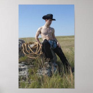 15693-RA Cowboy Poster
