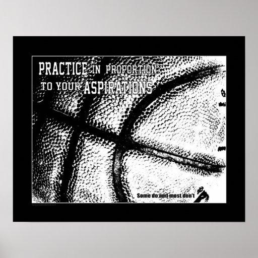 #156 (Matte) Basketball Poster