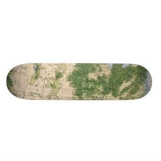 156 Wheat/sq mile Skateboard