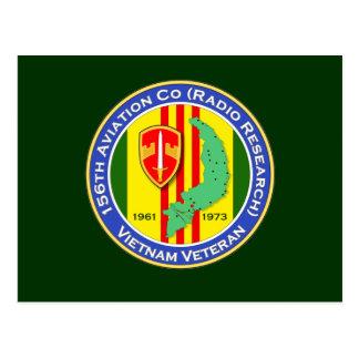 156o Avn Co 1b - ASA Vietnam Tarjeta Postal