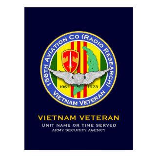 156o Avn Co RR 2b - ASA Vietnam Tarjetas Postales