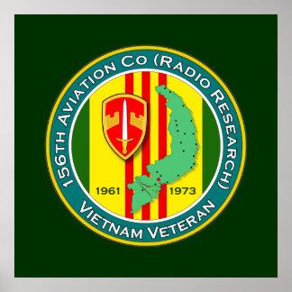 156th Avn Co RR 2 - ASA Vietnam Poster