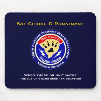 156th Avn Co - Stalking Grounds 2 Mouse Pad
