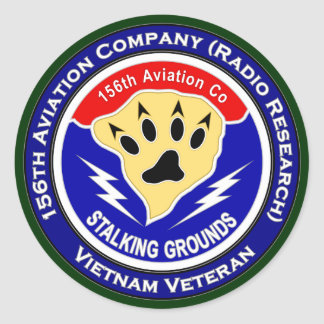 156th Avn Co - Stalking Grounds 2 Stickers