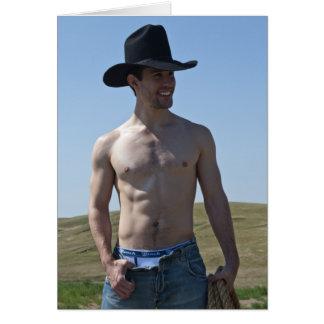 15746-RA Cowboy Greeting Card