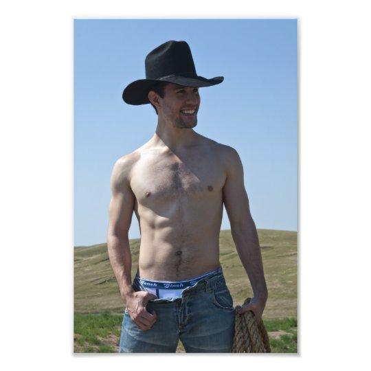 15746-RA Cowboy Photo Print