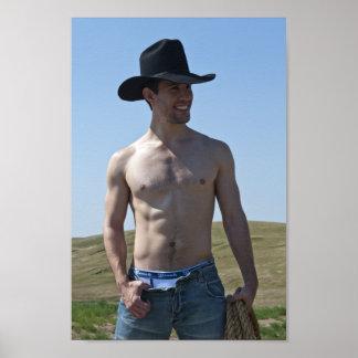 15746-RA Cowboy Poster