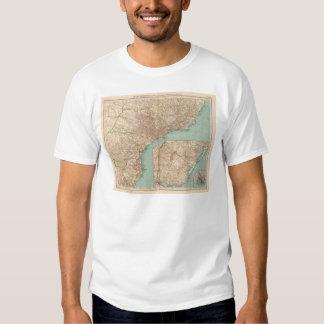15758 Southern Brazil, Uruguay T Shirt