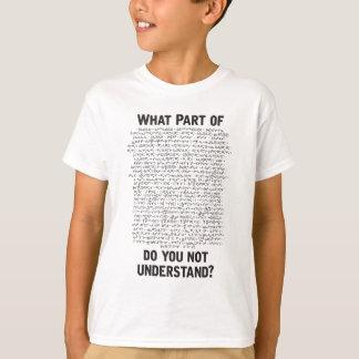 1579_ Lagrangian_lite_M_XXL.pdf T-Shirt