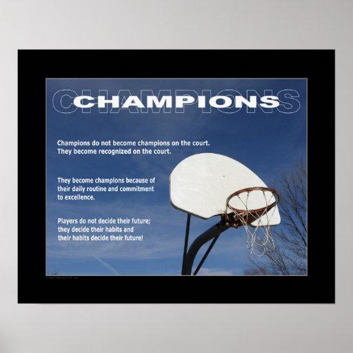 #157 (Matte) Basketball Poster